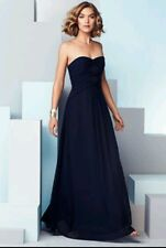 COAST  * KAROLINA * NAVY BLUE BANDEAU MAXI DRESS SIZE 18 NEW WITH TAGS