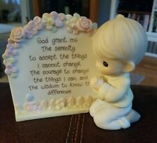 ☆☆Precious Moments 1993 Serenity Prayer Boy☆☆