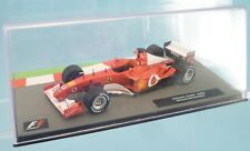Formula 1 FERRARI F2002 1/43 - 2002 Michael Schumacher die cast metal model F1
