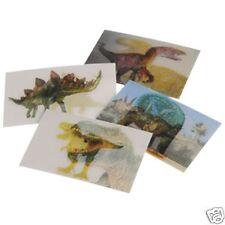 72 Dino Dinosaur Lenticular Stickers Party Goody Loot Bag Filler Favor Supply