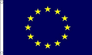 EUROPEAN FLAG  8' x 5'  Extra Large Premium Quality Indoor or Out door use
