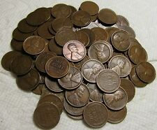 2 ROLLS OF 1920 D DENVER LINCOLN WHEAT CENTS FROM PENNY COLLECTION