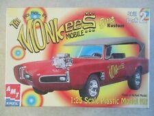 1:25 SCALE THE MONKEES MOBILE BARRIS KUSTOM MODEL KIT MINT IN BOX 30259