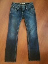 Big Star REMY Low Rise Boot Cut Jeans size 27 x 31 Stretch