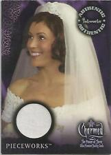 "Charmed The Power Of Three: PW-1 ""Phoebe's Wedding Gown"" Pieceworks Costume Card"