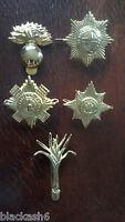 Grenadier Coldstream Scots Irish Welsh Guards Brass Cap Badges Full Set