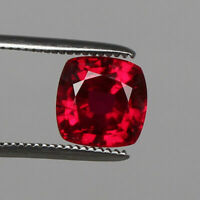 AAA Grade Natural Mozambique Red Ruby 7.50 Ct. Perfect Square Cut Loose Gemstone