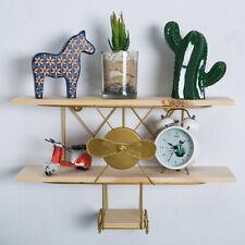 3 Tier Wooden Craft Wall Mount Rack Storage Display Shelf Home Office  C!
