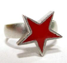 Modeschmuck-Ringe im Band-Stil aus Messing