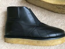 STELLA MCCARTNEY QUILTED BLACK BOOTS SHOES,ANKLE BOOTS UK 2/2.5,EU 35/35.5