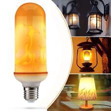 E27 6W 2835 LED Fackel Licht Feuer Lampe Flammen Effekt Glühbirne Flamebulb FS