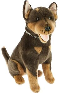 Kelpie Plush Stuffed Soft Toy Dog Basil  28cm by Bocchetta