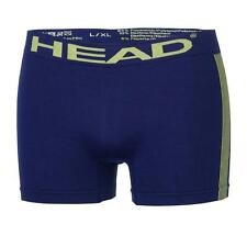 Mens HEAD Designer Boxer Underwear Trunk Seamless Briefs Short Pants Size-XXL