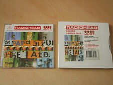 Radiohead - Just - CD 1 & 2 (2 CD Set) Limited Edition Pack Sealed - Very Rare
