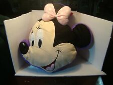 Disney Minnie Mouse Pillow with Handle and Mesh Storage Overnight Bag