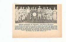 Boeing Bombers Wichita Kansas Corbin Kentucky 1946 Baseball Team Picture