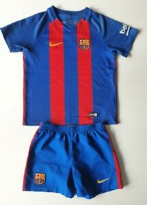 Barcelona Nike Home Kit - Juniors Size M 5-6 Years (110-116cm) - Authentic