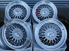"17"" Vintage Alloy Wheels Fits BMW 5 Series E12 E28 E34 E60 E61 F10 WR"