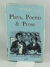 J.M. Synge's Plays, Poems, and Prose (Everyman's Library)