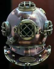 Diving Helmet U.S Navy Mark V Deep Sea Marine Divers Antique Scuba Helmet