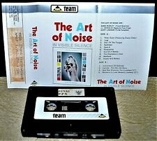 THE ART OF NOISE       - IN VISIBLE SILENCE -                   Cassette Tape