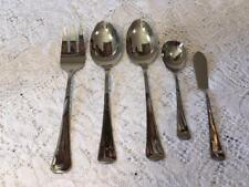 ONEIDA 1881 Rogers WYNDHAM STAINLESS Serving Pieces Spoons Forks Butter Knife
