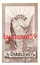BITTER DIABLERETS_Aperitivo_Digestivo  -  F. LEYVRAZ  -  AIGLE_SUISSE_Svizzera