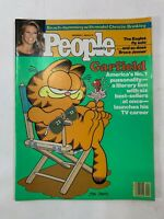 Vintage 80s People Weekly Garfield Magazine