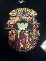 Survivor Series 1988 WWF WWE Hoodie Size Medium NWT NEW Macho Man Andre OFFICIAL