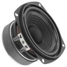 """2x Monacor SP-60/4 Hifi Bass 100mm 4"""" Bassmitteltöner Speaker 10cm PAAR"""