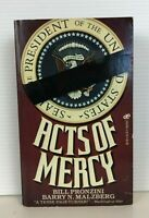 Acts Of Mercy by Bill Pronzini & Barry N. Malzberg Paperback Book