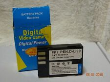 Battery for pen  type D-LI90 7,2V 1550mAh   Li-Ion D Li90