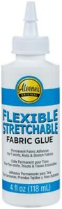 Aleene's Flexible Stretchable Fabric Glue-4oz