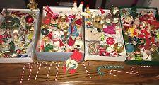 RARE 120+ Vintage/Antique Christmas Decorations/Ornaments Elf on a Shelf LOT