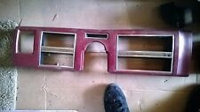 1975-1979 LINCOLN CONTINENTAL TOWNCAR TOWN CAR Dash Speedometer Bezel Red OEM