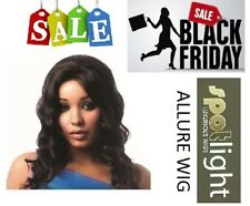 ALLURE WIG 100% Human Hair Swiss Net Lace Front Wig by Sleek 4 Any Event n Style