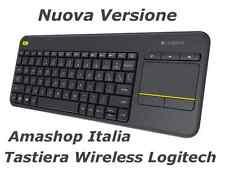 Tastiera Wireless Logitech Touch K400 Plus Layout Italiano Qwerty NUOVA VERSIONE