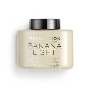 Makeup Revolution Setting Powder Banana Light