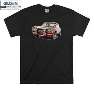 Ford Escort MK1 Rs2000 Mexico T-shirt Rally T shirt Men Women Unisex Tshirt 2159
