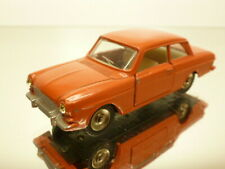 DINKY TOYS 538 FORD TAUNUS 12M - BRICK RED 1:43 - GOOD CONDITION