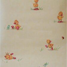 Luxury Designer RASCH Fun Ducks Children's Wallpaper 257908 Batch No 7