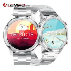 LEMFO Android IOS Smartwatch IP68 Sportuhr Armband Blutdruck Fitness Tracker LG