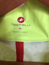 Castelli Mens Cycling Rain Jacket - Yellow Xxl