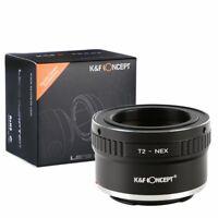K&F Objektivadapter für T2 Teleskopen Objektive auf Sony E-Mount NEX Kamera
