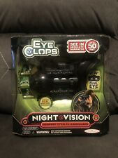 eyeclops night vision infrared stealth goggles BRAND NEW