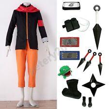 Custom-made Naruto The last Uzumaki Naruto Ninja Halloween Cosplay Costume Set