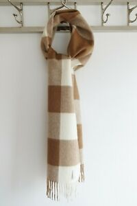 Ultra-Soft Alpaca Scarves, Checked Colours NEW!