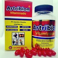 ARTRIBION & ortiga ARTHRITIS join pain 30 SOFTGEL caps OSTEOPOROSI  ARTICULACION