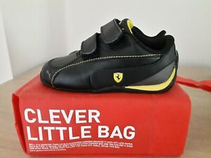 Boys Puma Ferrari Trainers Size C6