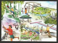 SINGAPORE 2019 NATIONAL DAY PARKS (ADMIRALTY PARK) OFFICIAL MAXICARD 1ST LOCAL